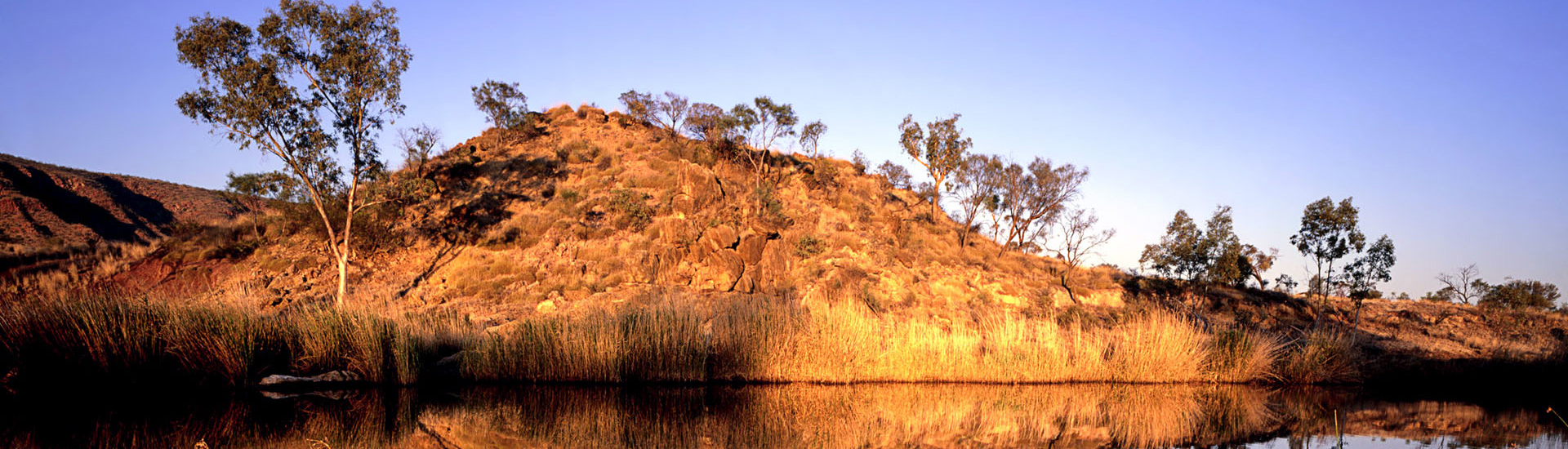 Finke River near Glen Helen, West Macdonnell Range, Northern Ter